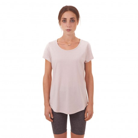 Tee-shirt long rose