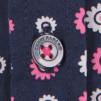 Chemise Imprimée Fleur Bi-color