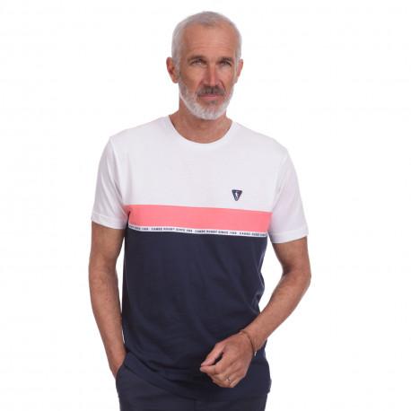 Tee shirt sport Tricolor