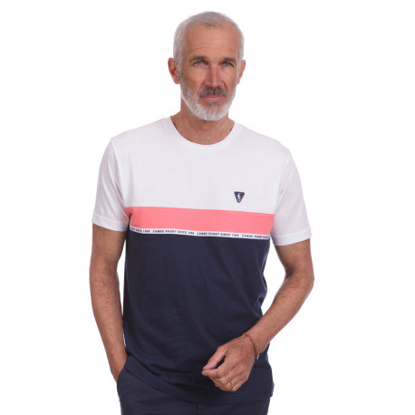 Tee shirt sport Tricolor